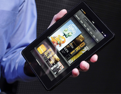 Kindle Fire 7-inch multi-touch color tablet