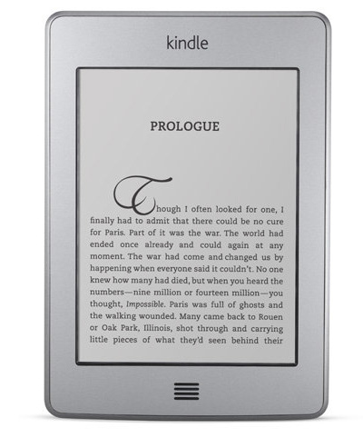 Kindle Touch E Ink e-reader